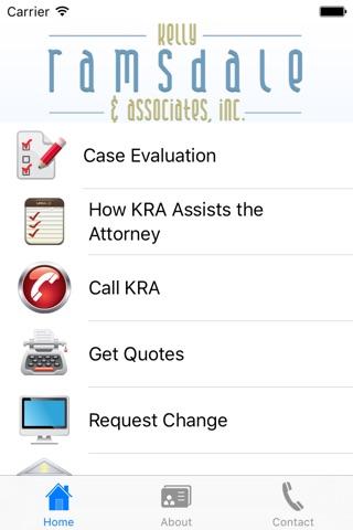 Kelly Ramsdale & Associates screenshot 1