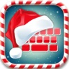 Christmas Keyboard – Cute Background, Emoji & Font