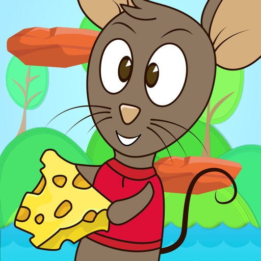 Mouse Jump Climb - Rat stealing cheese avoid obstacles Game for Kids iOS App