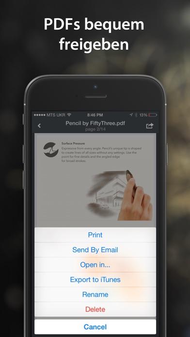 PDF Converter von Readdle Screenshot