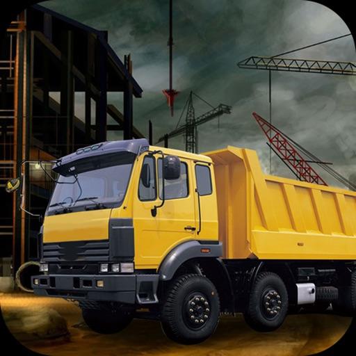 Cargo and Construction Crane Simulator Operator Icon
