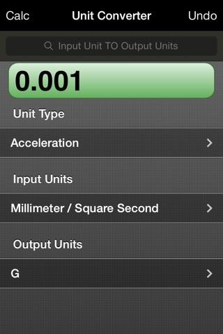 RPN Calc screenshot 2
