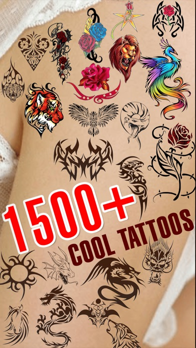Tatto designer booth pro add tattoos on your body ipa for Design your own tattoo app
