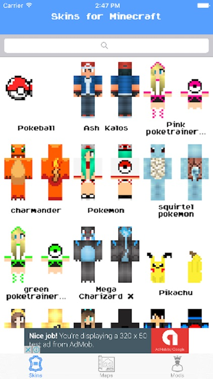 Pixelmon Maps and skins download for minecraft PE by rolling