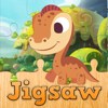 Dinosaur Cartoon Jigsaw Puzzles for Kids and Toddler - Kindergarten and Preschool Learning Games Free Wiki