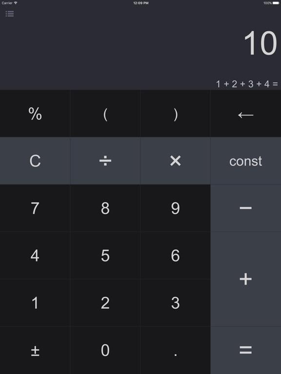 Screenshot #1 for Spark - Smart Calculator and Unit Converter