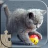 Пазлы с кошками - Расслабляющий фото головоломки для детей и взрослых
