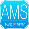 Amsterdam Travel Guide with Metro Map and GPS