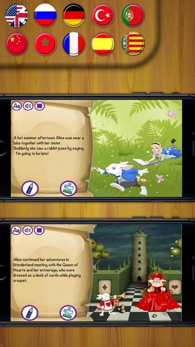 Alice in Wonderland contes classiques de livresCapture d'écran de 3