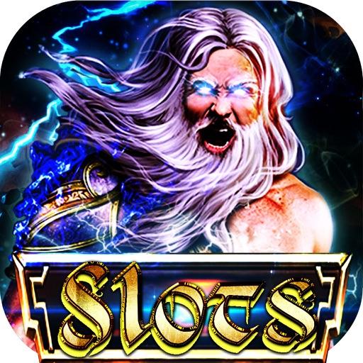 Zeus Lightning Mega Slots Casino HD Game for Fun iOS App