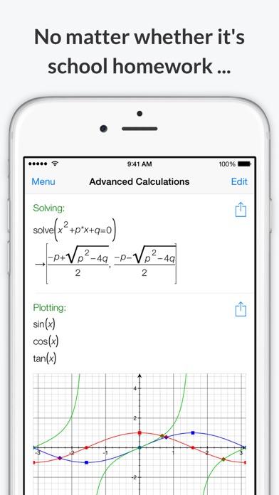 Screenshot #7 for PocketCAS Mathematics Toolkit