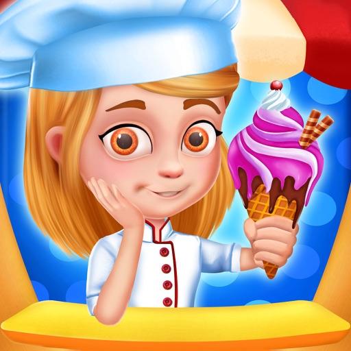 Ice Cream Parlor for Kids iOS App