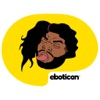 Not Karlton Banks Stickers by Eboticon