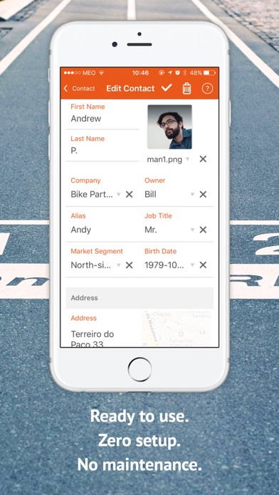 Screenshot of MOBIZY - App for Small Business4