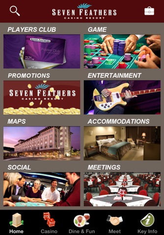 Seven Feathers Casino Resort screenshot 1