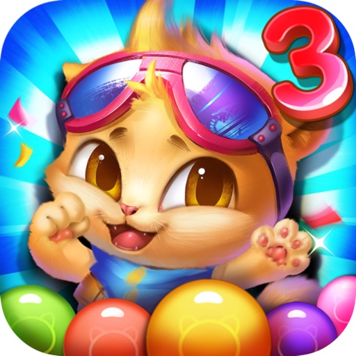 Bubble Cat 3 - Ball Shoot Revenge iOS App