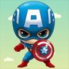 Captain Superhero - Captain America Version captain barbell