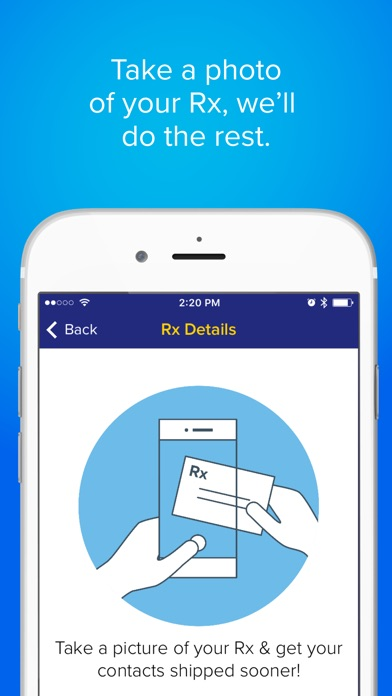 Screenshots of 1800 Contacts—Worlds Largest Contact Lens Store for iPhone