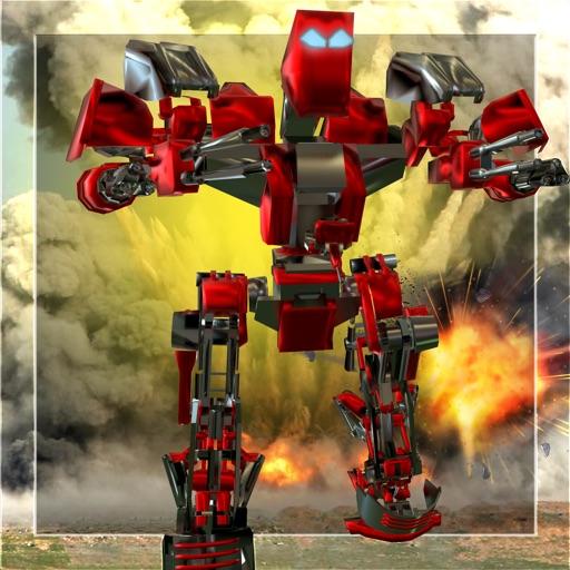 Механика нападение робота войны 2016 - армия атаки