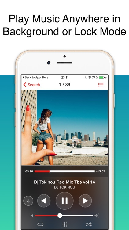 mp3 player for iphone free download