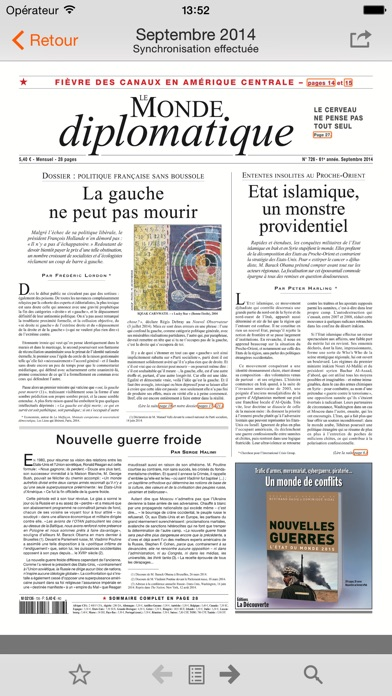 Capture d'écran iPhone 1