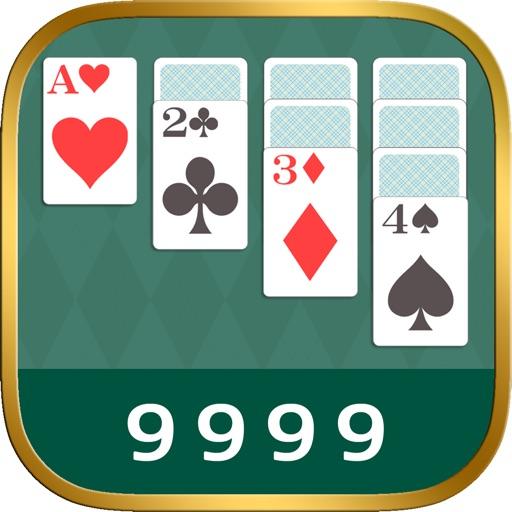 ソリティア!! - 9999回プレイでクリアの定番 ゲーム