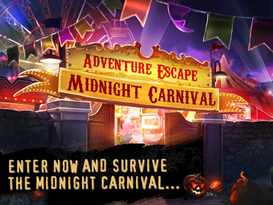 Screenshots of Adventure Escape: Midnight Carnival Mystery Story for iPad