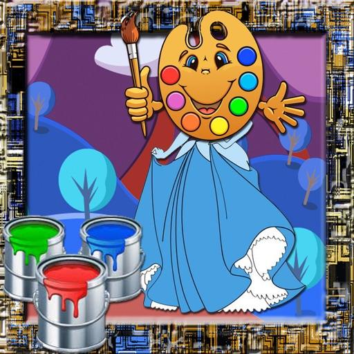 Paint Games Princess Version iOS App
