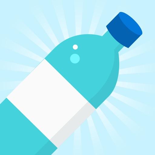 Flippy Water Bottle Flip 2 k16 7 Challenge Games ! iOS App