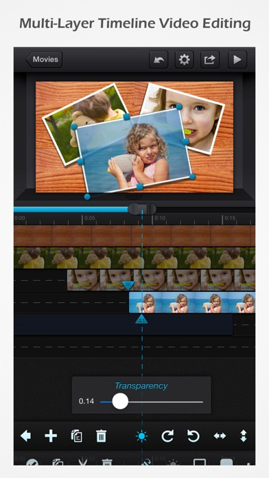 Cute CUT Pro - 全機能動画編集 screenshot1