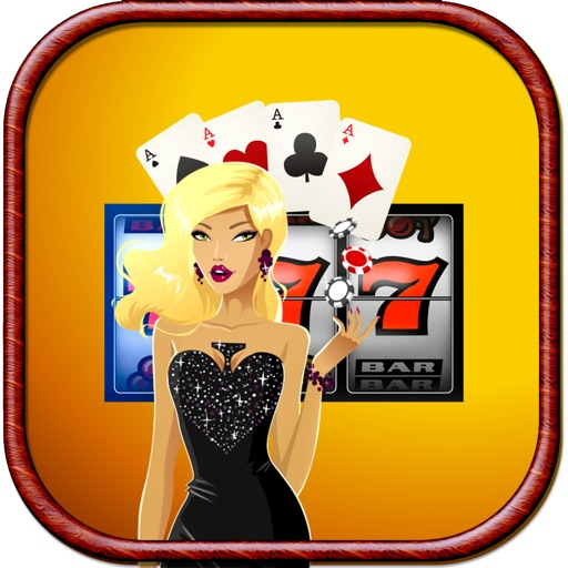 Girl of House Slots Casino Icon