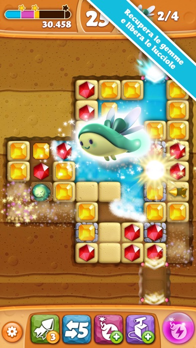 Screenshot of Diamond Digger Saga1