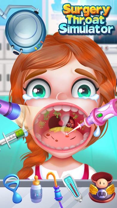 喉の手術シミュレータ - 無料ドクターゲームのスクリーンショット1