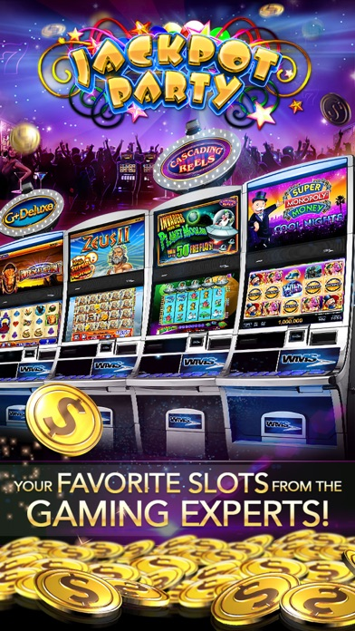 slots jackpot party casino itunes store