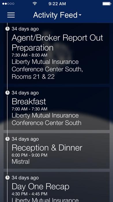 Screenshot of Liberty Events4