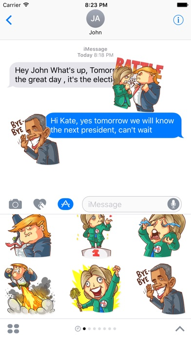 download Election Day Emoji Stickers - for iMessage apps 2
