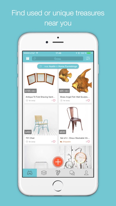 Find Used Furniture trove marketplace: buy & sell local used furniture & home decor