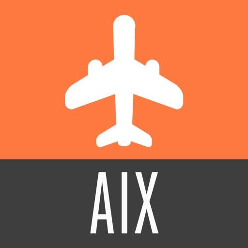 Aix-en-Provence Guide de Voyage avec Carte Offline