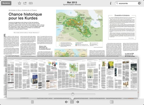 Capture d'écran iPad 5