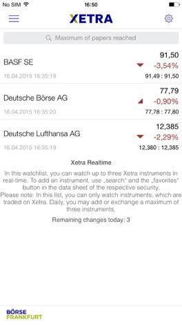 download b rse frankfurt app for iphone appszoom. Black Bedroom Furniture Sets. Home Design Ideas