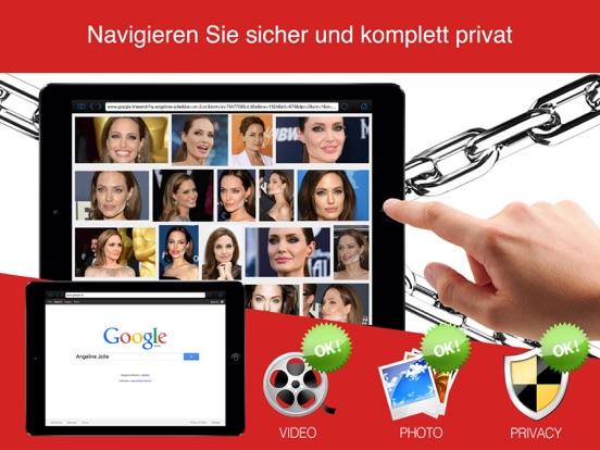 Privater Browser Pro (Sicheres Surfen im Internet) Screenshot