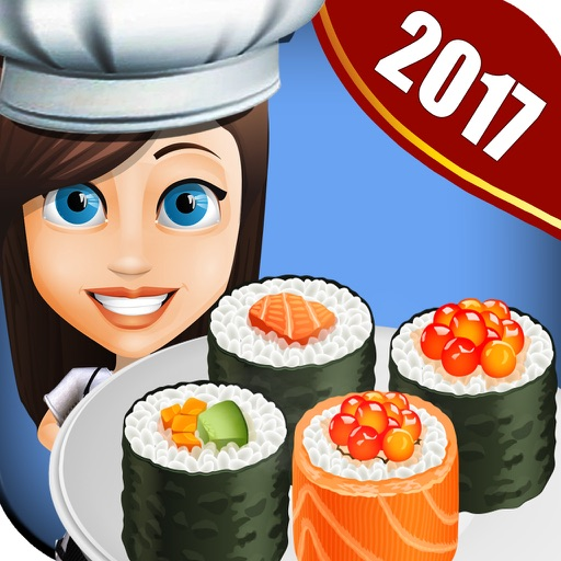 Sushi Cafe Story 2 : Chef Cooking Food maker games iOS App