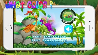 Screenshot of dinosauro colore giochi esercizi test per bambini2
