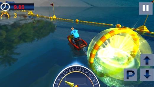 Drive Boat Simulator : Racing Stunt Mania Screenshot