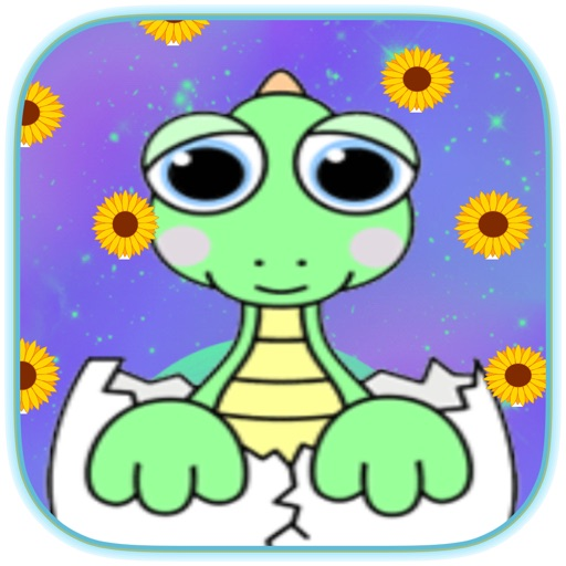 Dinosaur Coloring Book - Dino Finger Paint iOS App