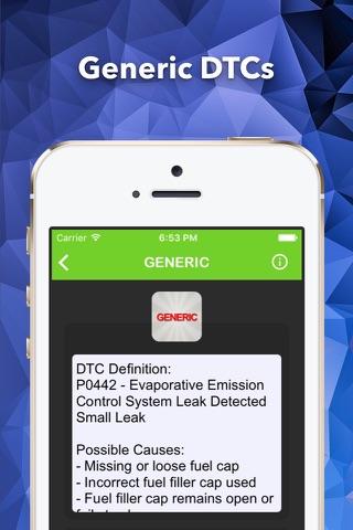 OBD2 Enhance Trouble Codes screenshot 3