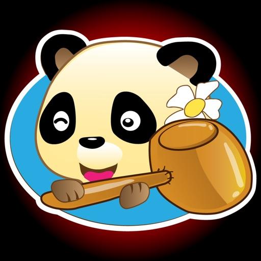 العب مع الباندا