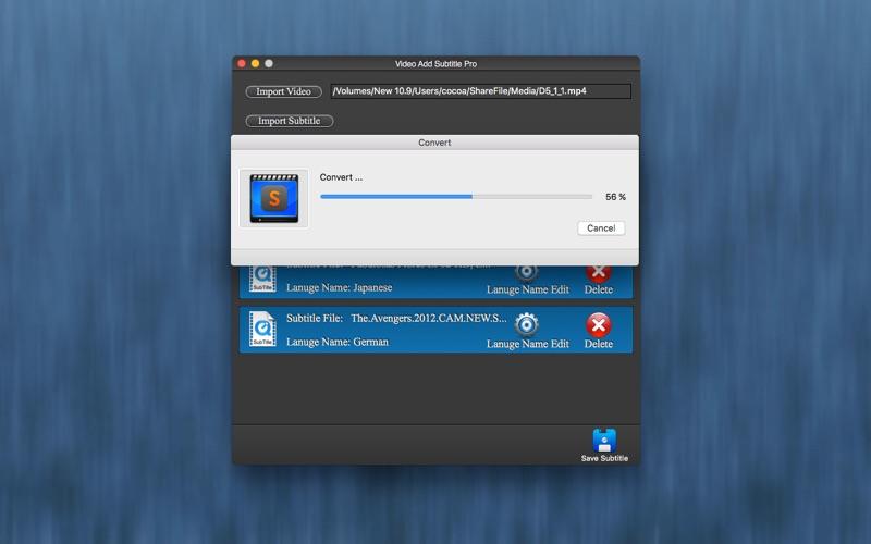Video add subtitle pro lite by super software screenshots mac osx screenshots mac osx ccuart Image collections