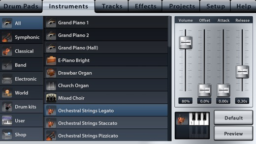 Music Studio Screenshots