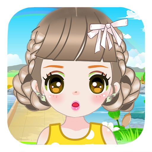 Fashion Girls - Dress up and Make up game for kids iOS App